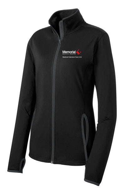 Memorial 7C ICU Ladies Sport-Tek Contrast Jacket