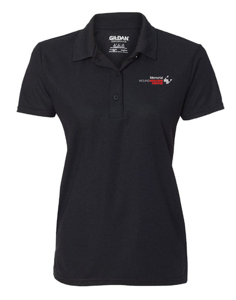 Memorial Wound Center Ladies SPORT TEK Short Sleeve Polo