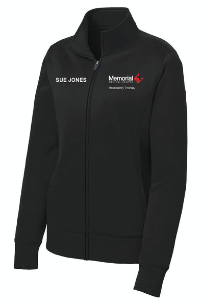 Memorial Respiratory Therapy - Ladies Sport Tek Fleece Jacket