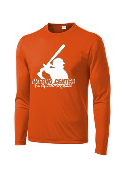 HITTING CENTER SOFTBALL UNISEX DRIFIT LONG SLEEVE TEE (P.ST350LS)