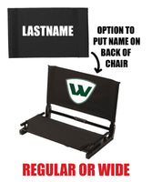 PEORIA WIZARDS STADIUM CHAIR