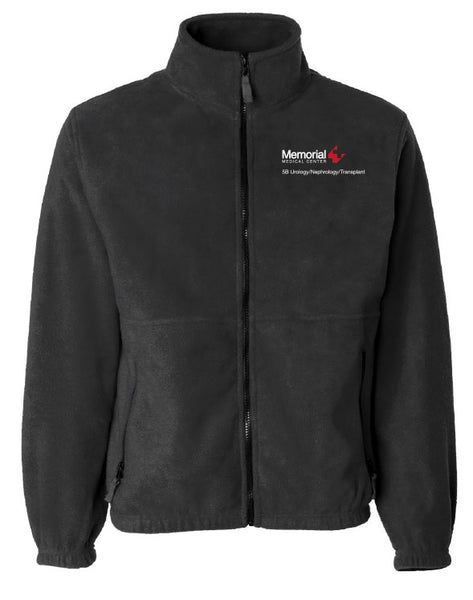 Memorial 5B Urology/Nephrology/Transplant Unisex Sierra Pacific Zip Fleece Jacket