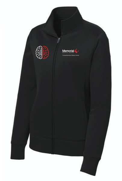 MEMORIAL Stroke Center Ladies Sport Tek Fleece Jacket
