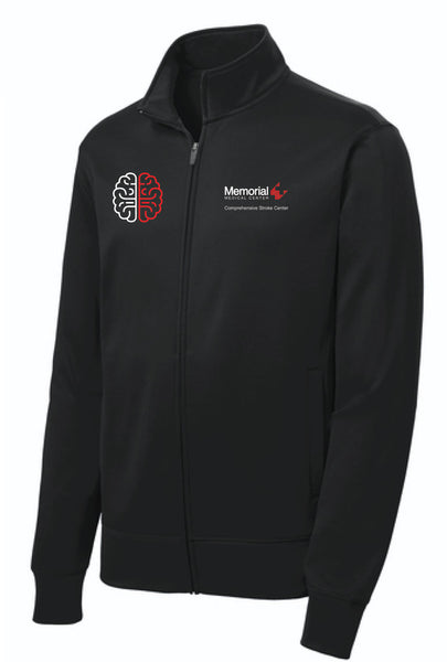 MEMORIAL Stroke Center Unisex Sport Tek Fleece Jacket