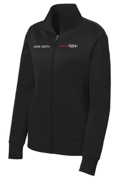 Memorial Wellness Center Ladies Sport Tek Fleece Jacket