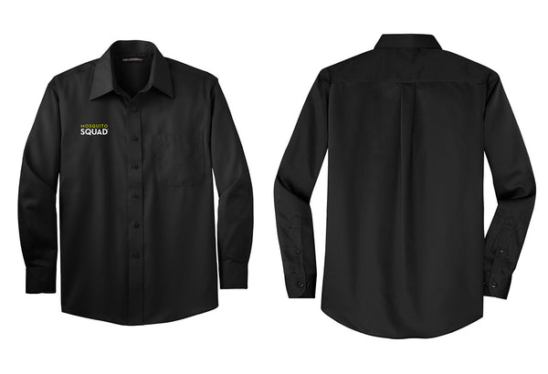 Mosquito Squad Button Up Twill Shirt