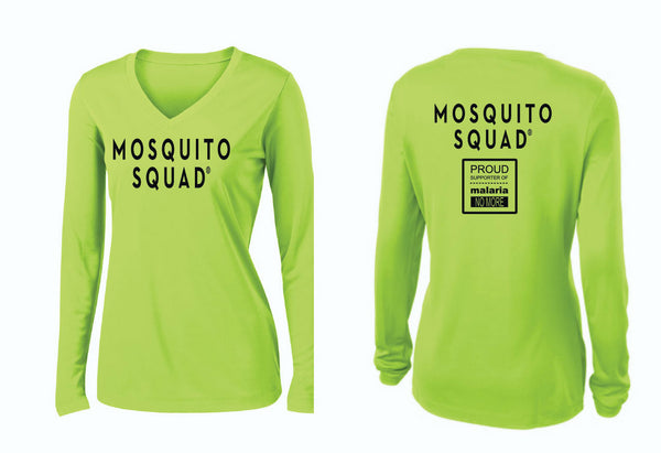 Mosquito Squad Ladies Tech Shirts