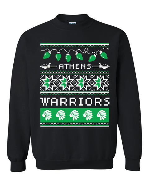 Warrior Ugly Christmas Sweatshirt