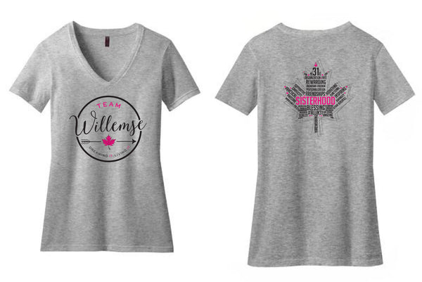 Team Willemse Ladies V-Neck Shirt