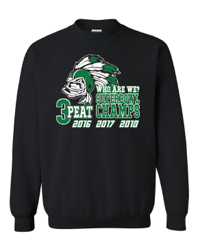7TH Grade Super Bowl Crew Sweatshirt