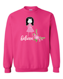Memorial's Be Aware Women's Fair Crewneck Sweatshirt