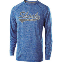 Blue Ice Shock Holloway Electric Dri Fit Long Sleeve