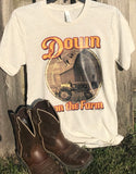 Down on the Farm Bella T-Shirt (Oatmeal Triblend)