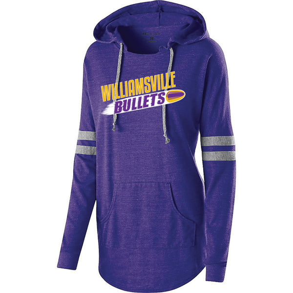 BULLETS LADIES HOODED PULLOVER