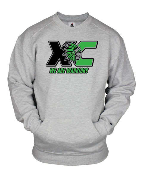 ATHENS XC POCKET CREW SWEATSHIRT