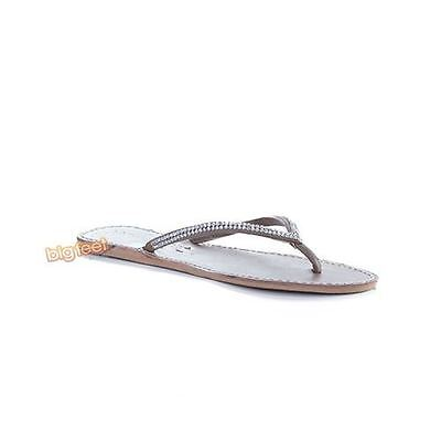 Laid Back London - Blair Flat Tan Silver Womens Sandals