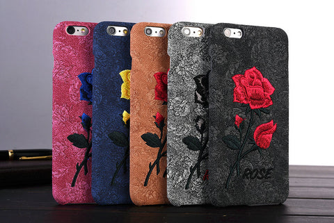 Flower Cover Elegant Case For iPhone