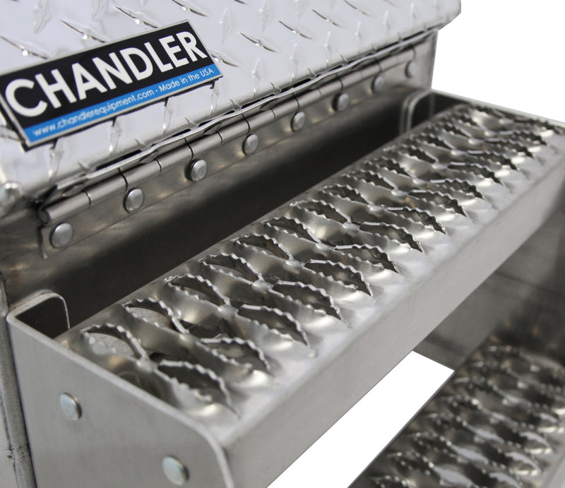 Chandler Aluminum Step Box