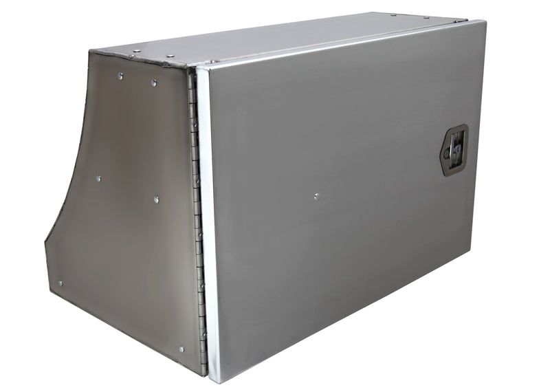 Chandler | SMOOTH ALUMINUM CURVED BACK TOOLBOX