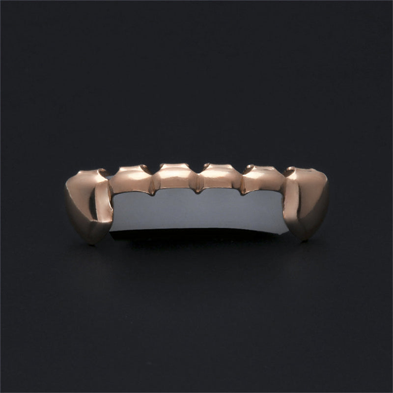 Half-Teeth Fang Gold Grills