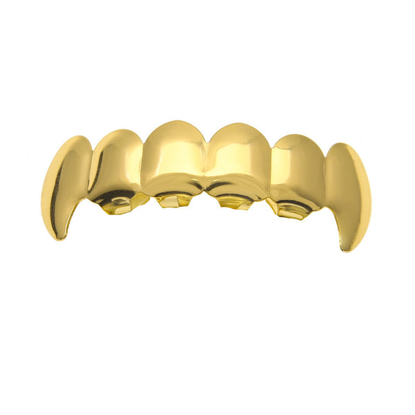 Gold Vampire Grill by Refinement Co.