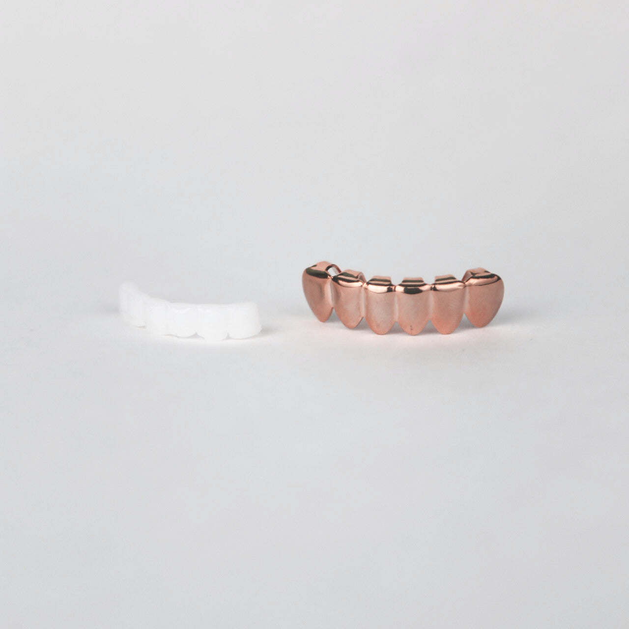 rose gold grill and mold