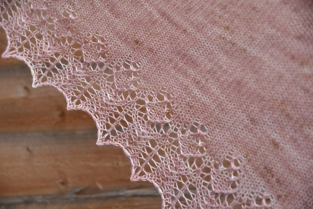 An introduction to knitting lace from charts