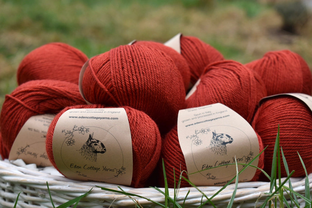 Milburn 4ply and DK in Dogwood - not just for Christmas! ❤️