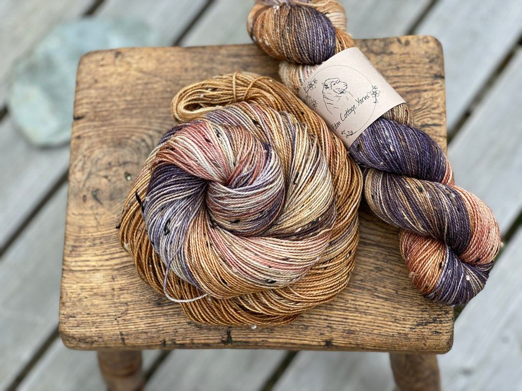 Introducing: the need for tweed, with Keswick Fingering and Keswick DK yarns