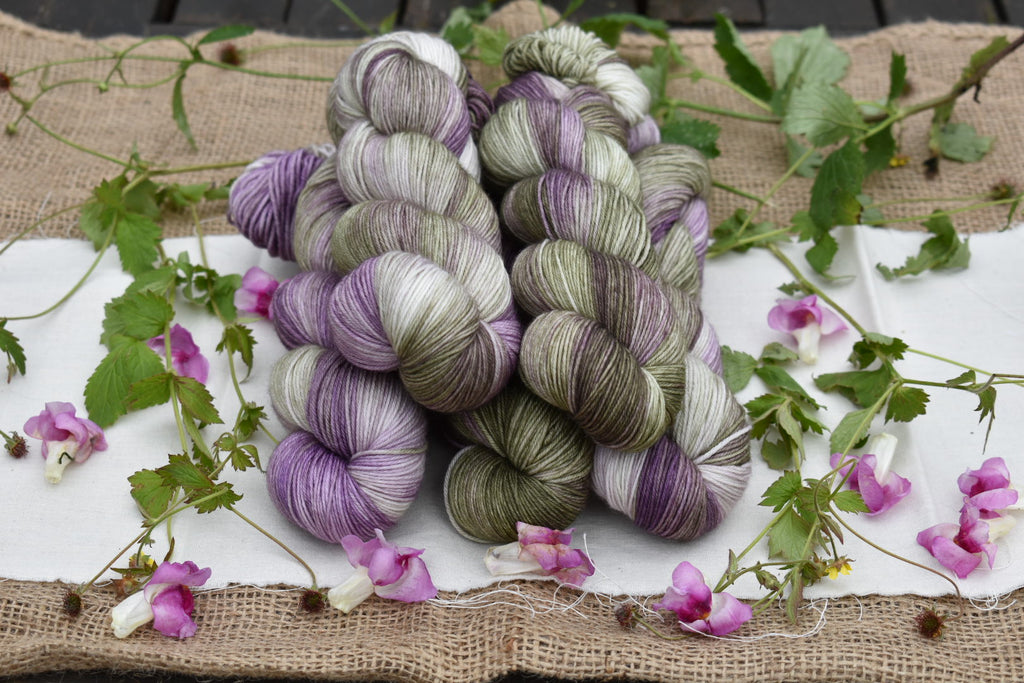Brimham 4ply: projects and patterns using merino/nylon sock yarn