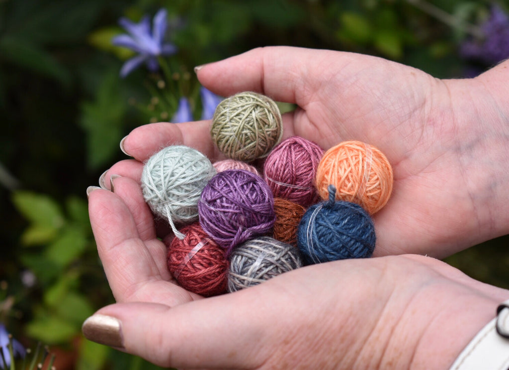 All your questions answered about Yarnlings™ - the tiny balls of ECY yarn.