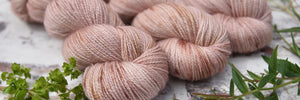 Preview of Friday's hand dyed yarn update: Harewood 4ply