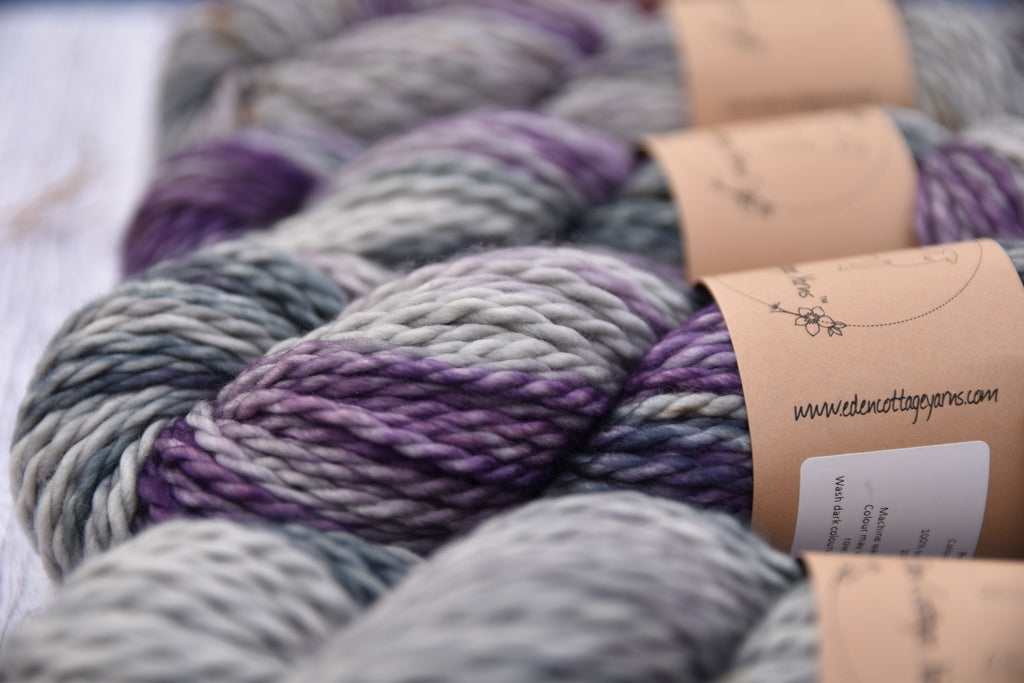 New yarn klaxon: Pendle Chunky.. super-squishy merino..