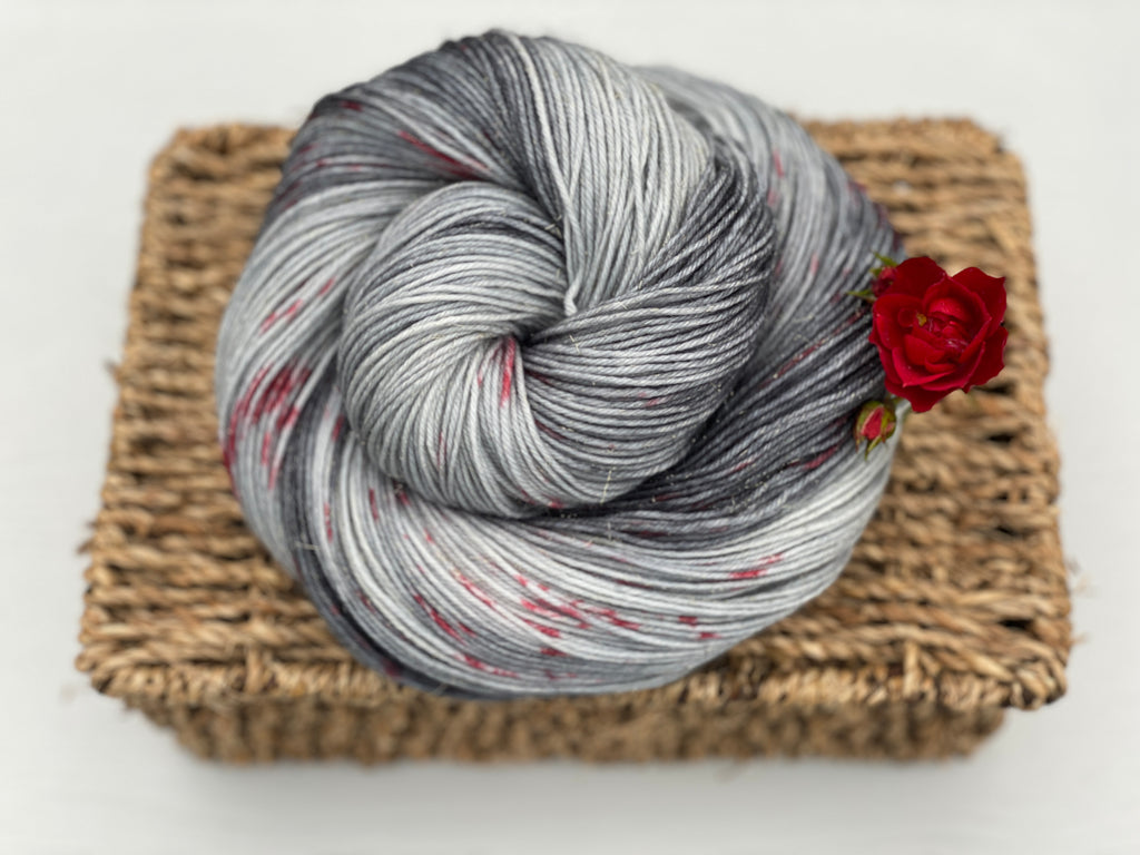 Introducing our sparkly Rosedale 4ply yarn!