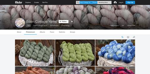ECY yarn inspiration on Flickr - how to use it, why we use it, and more!