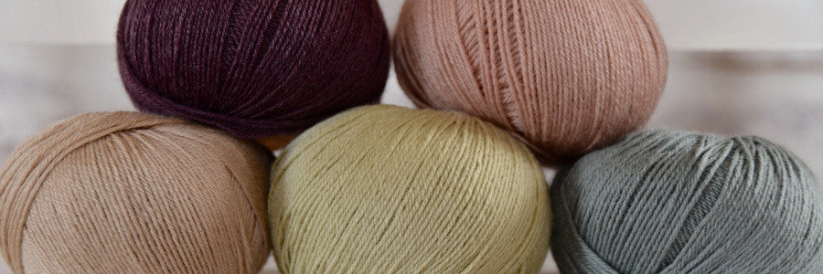 New Milburn 4ply shades! (And a lecture; sorry!)
