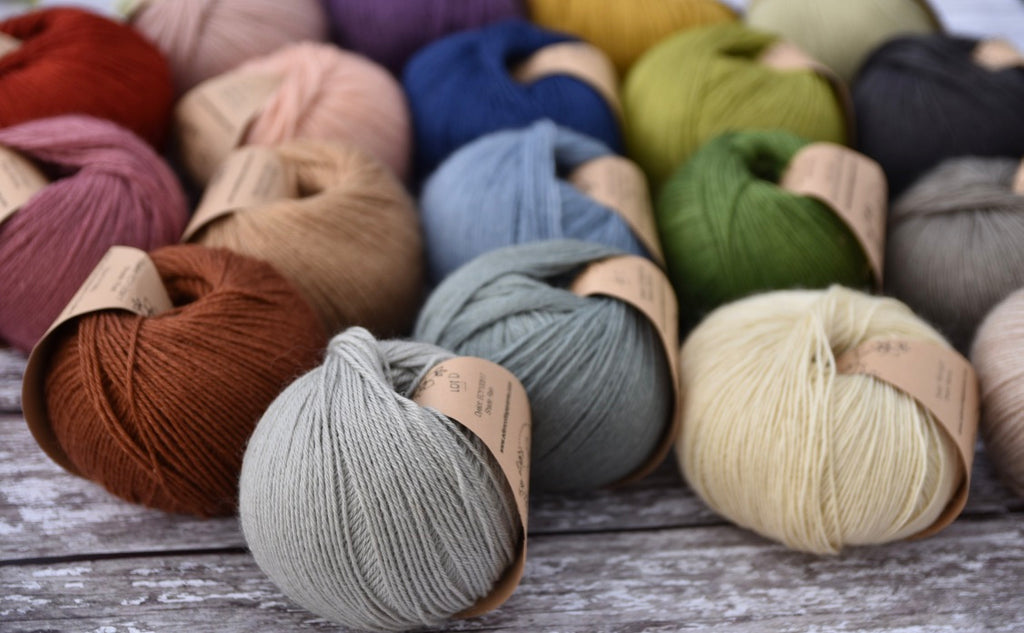 Milburn: How did you choose your colours for this yarn?
