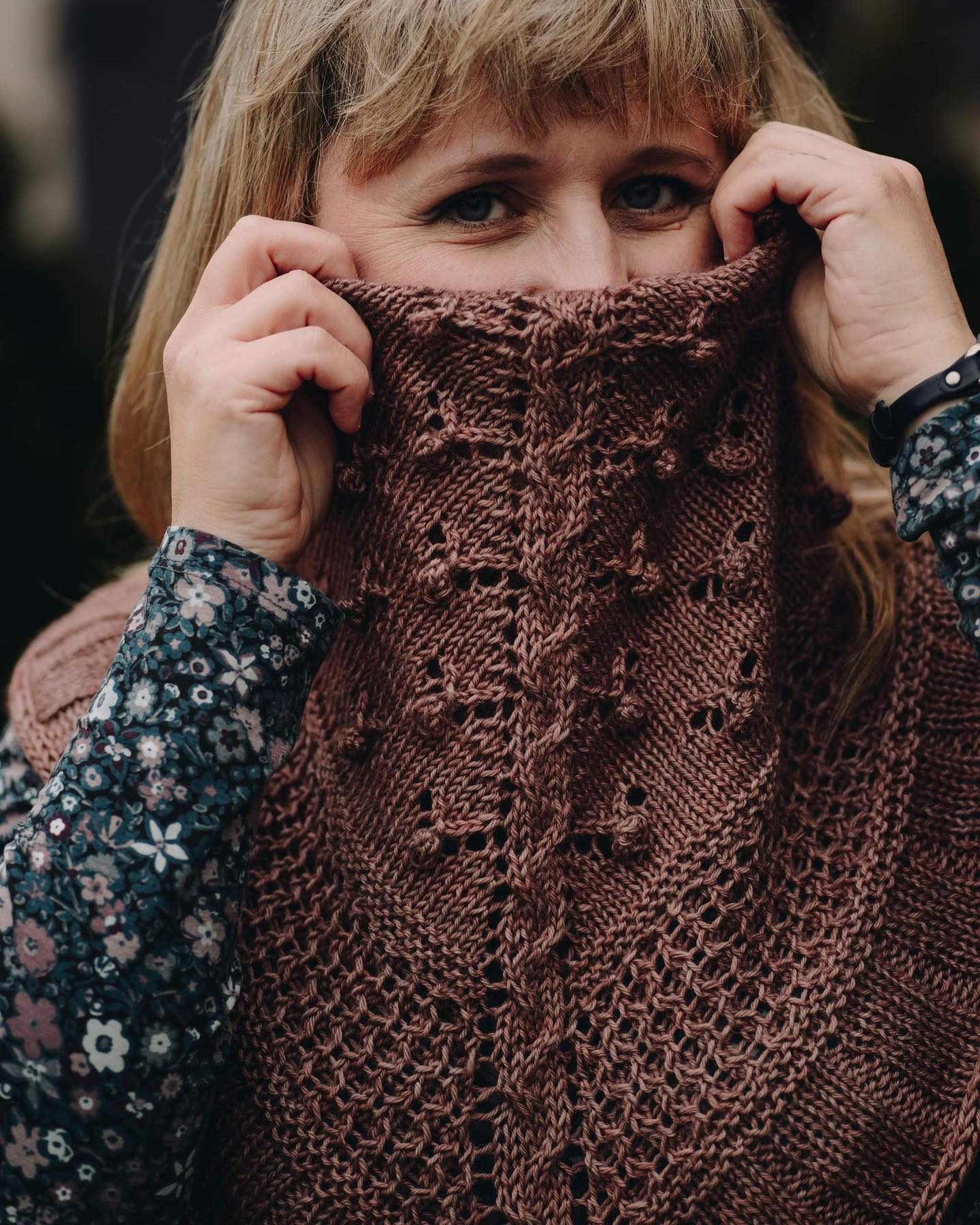 Solstice Rose Cowl by Justyna Lorkowska