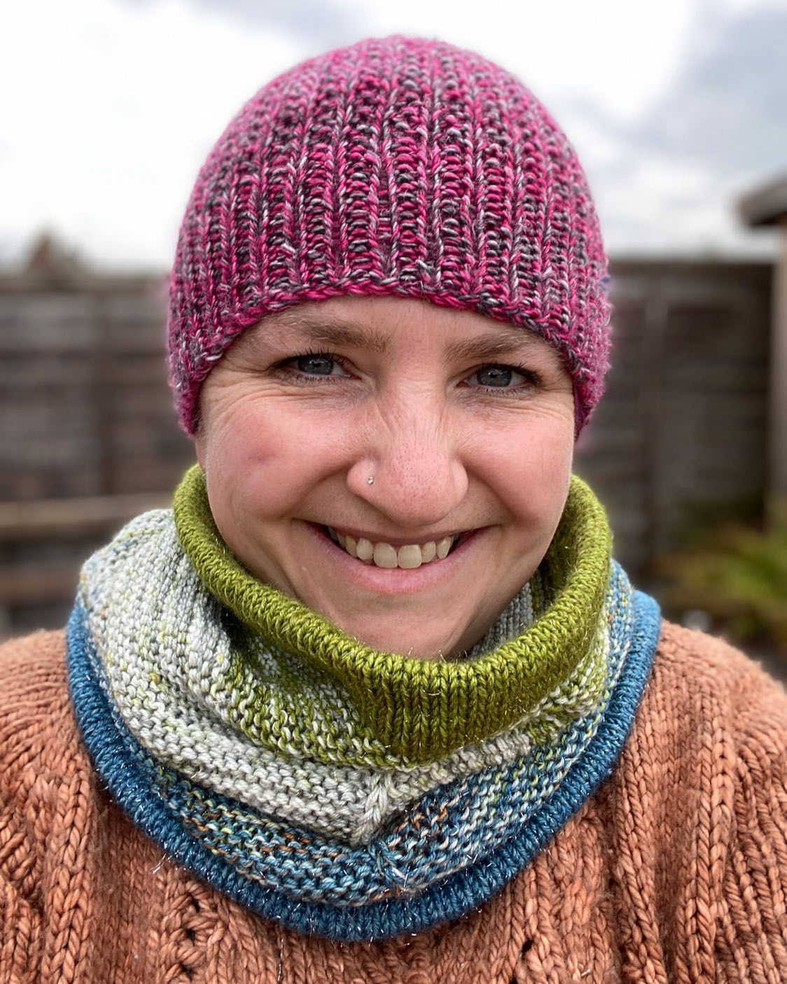 Fuss Free Beanie by Louise Tilbrook