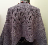 Arbors and Vines knitted wrap