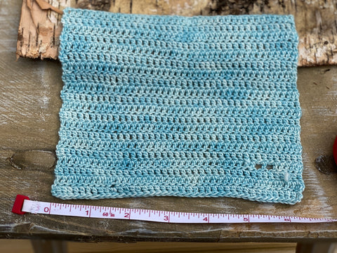 a square of crochet