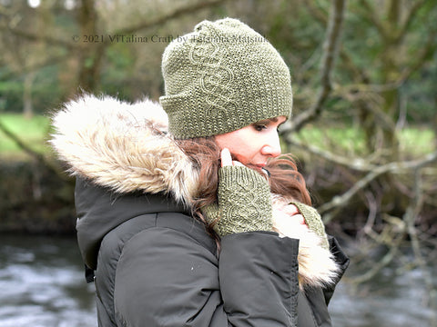 Arlet Hat and Mitts by ViTalina Craft