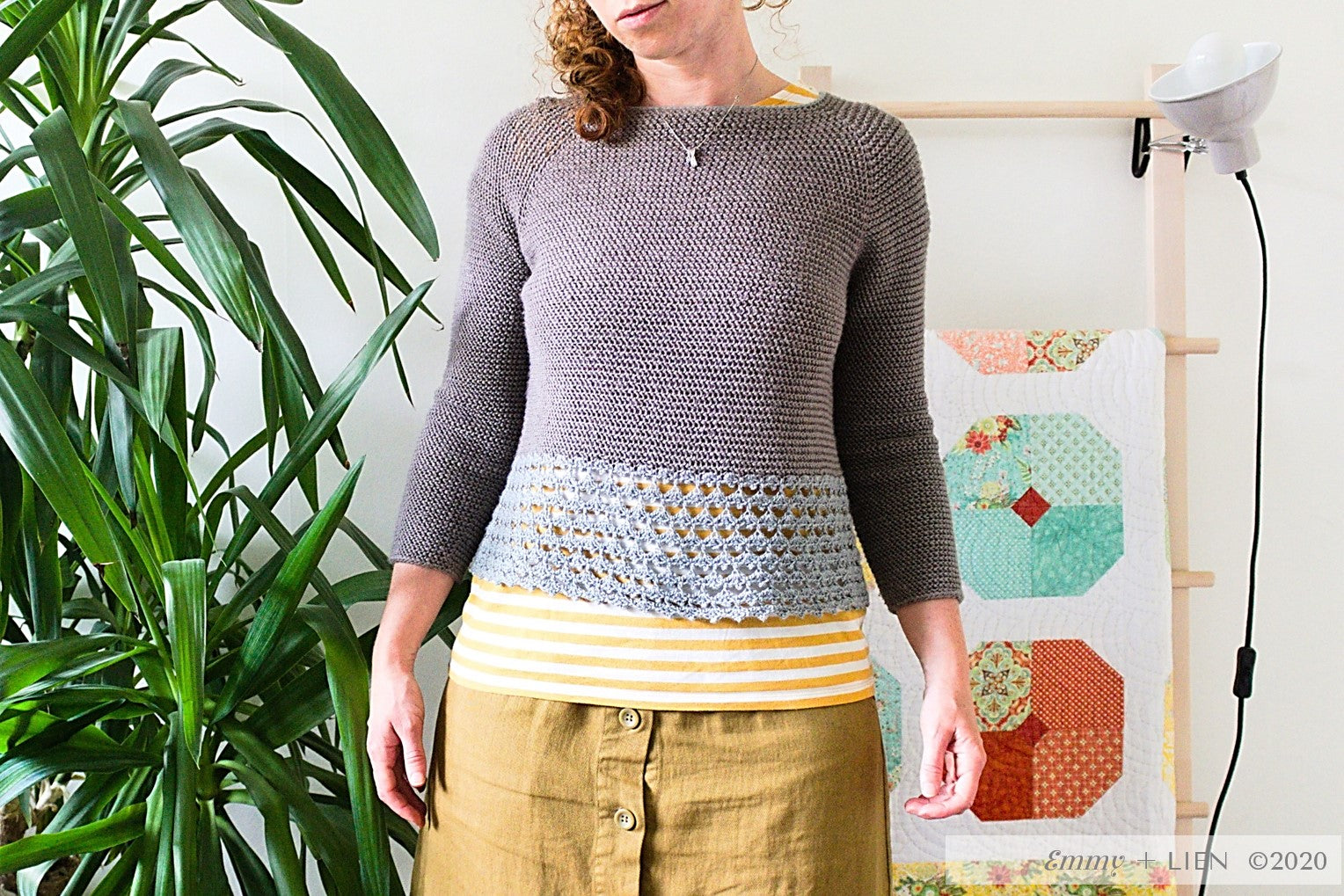 Droppe Sweater by Eline Alcocer