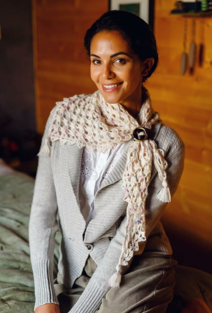 Frosted Neckerchief by Helda Panagary