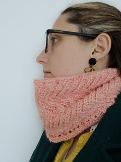 New Wave Cowl by Helen Boreham