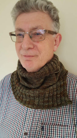 Cold Spring Cowl by Maya Gooding