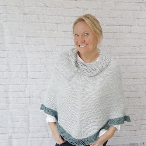 Boardwalk Stroll Poncho by JST Designs