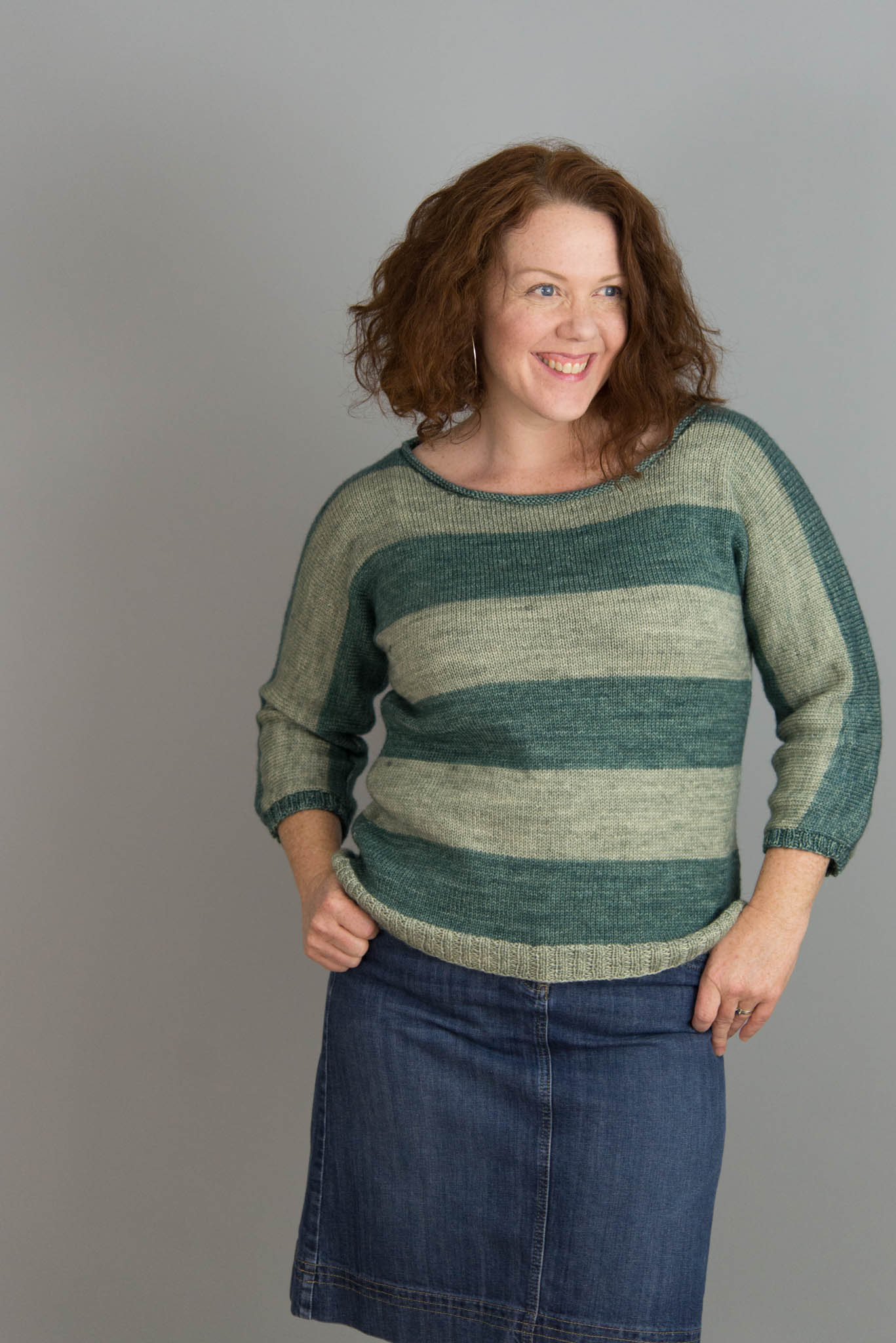 Small Point Pullover by Amy Herzog