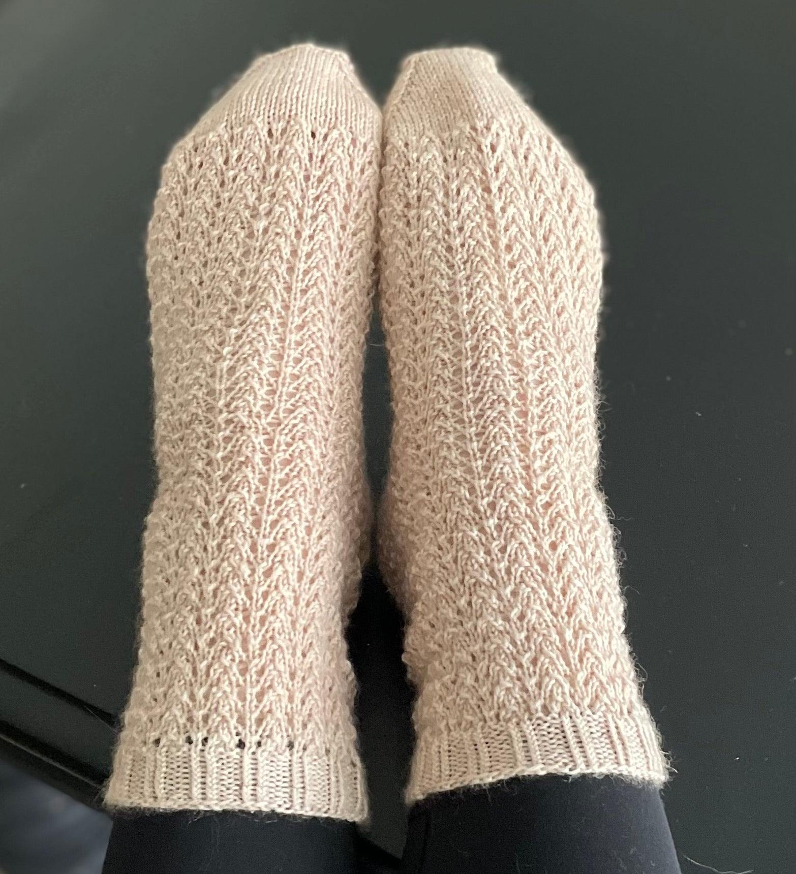 Victorian Cottage Socks by Aubrey Cantrell