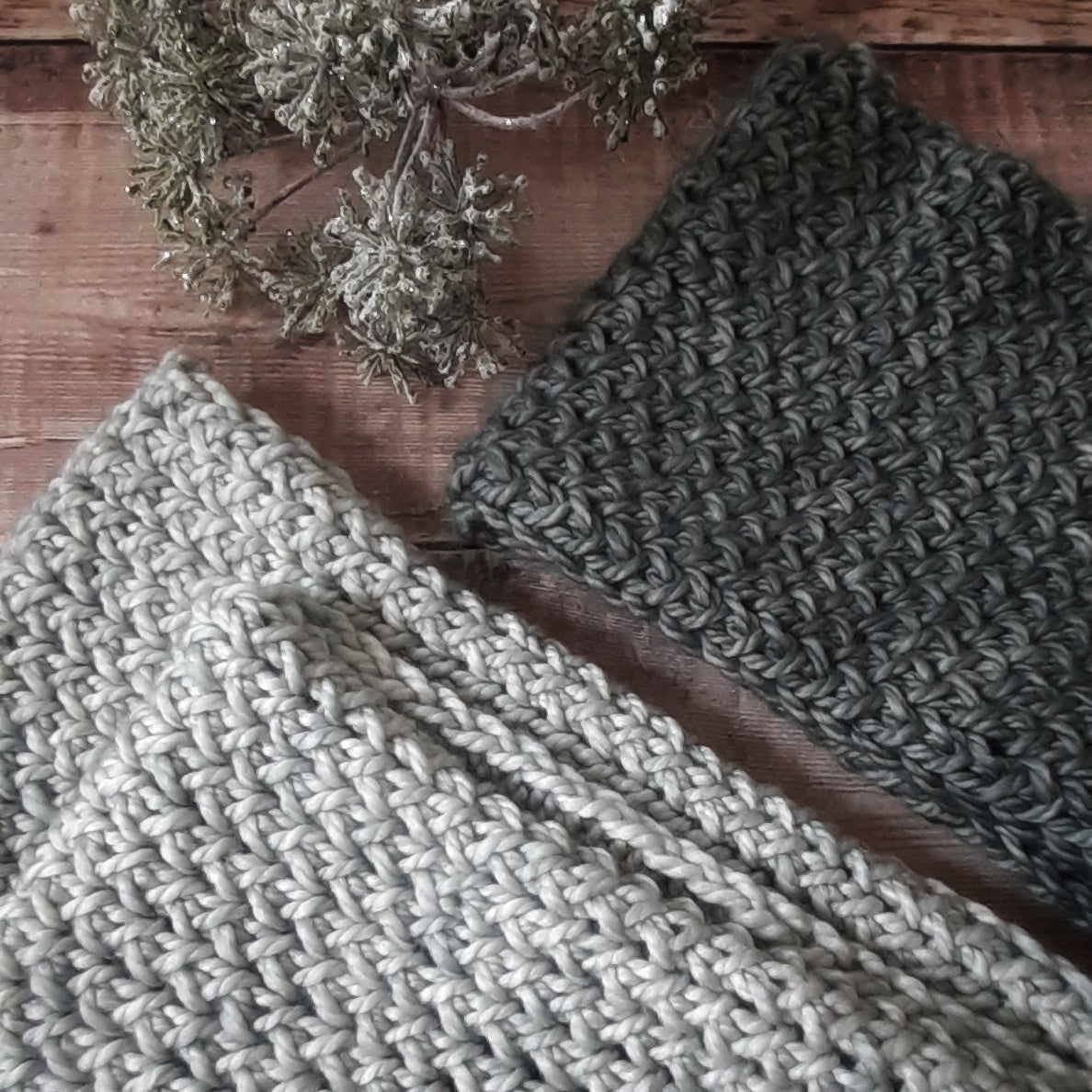 Sending Hugs cowl by Forest Flower Knits